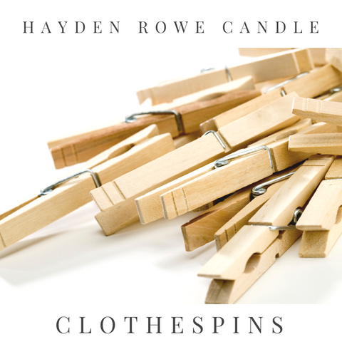 Clothespins Scented Wax