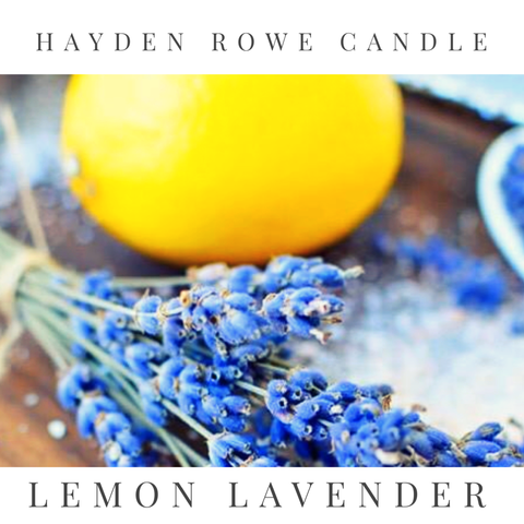 Lemon Lavender Scented Wax