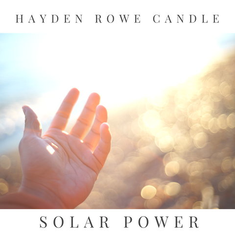 Solar Power Scented Wax