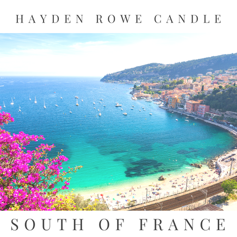 South of France Scented Wax