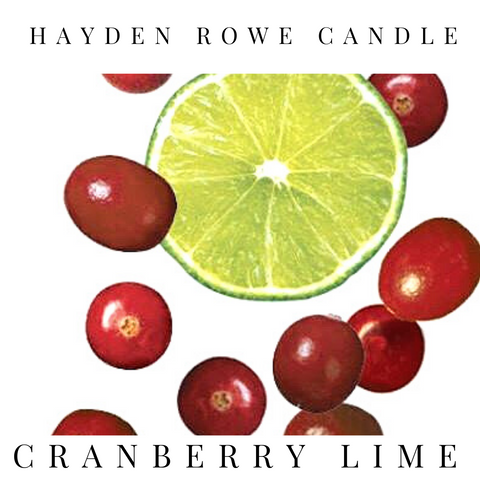 Cranberry Lime Scented Wax
