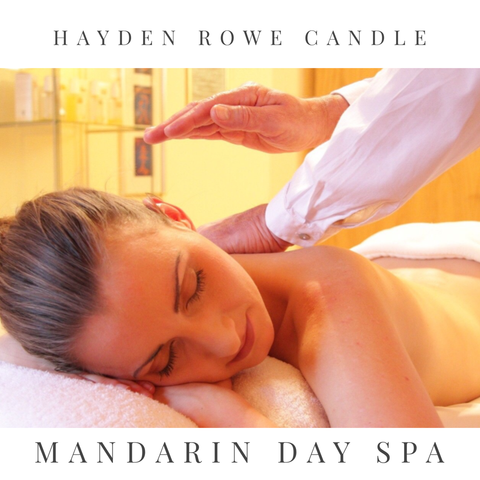 Mandarin Day Spa Scented Wax