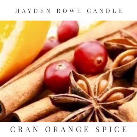 Cran Orange Spice Scented Wax