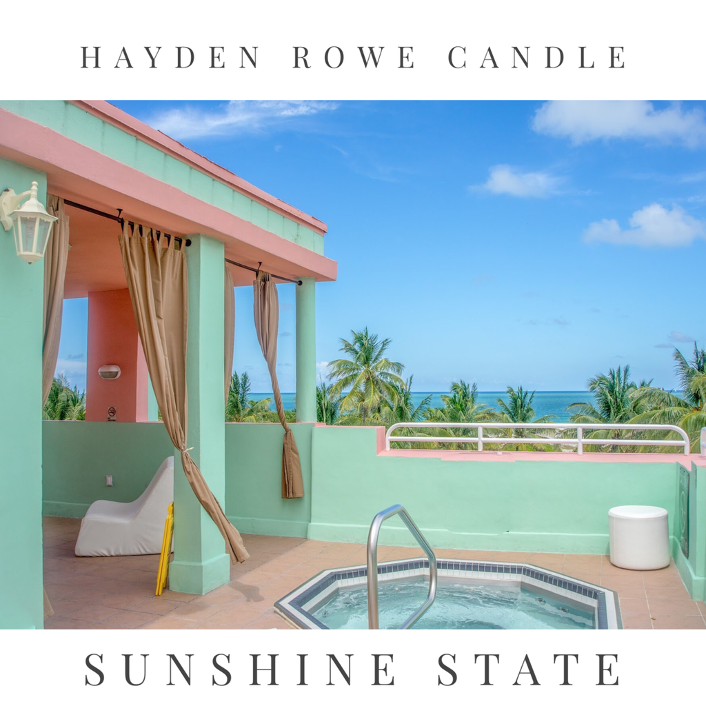 Sunshine State Scented Wax