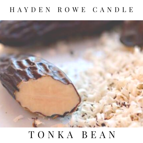 Tonka Bean Scented Wax