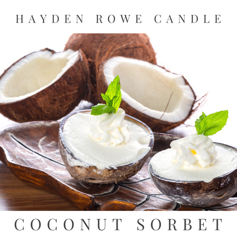 Coconut Sorbet Scented Wax