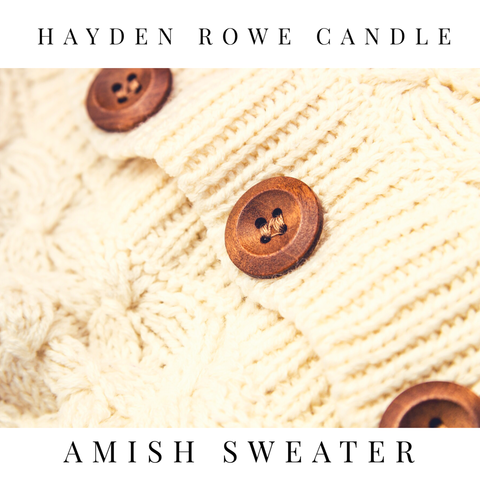 Amish Sweater Scented Wax