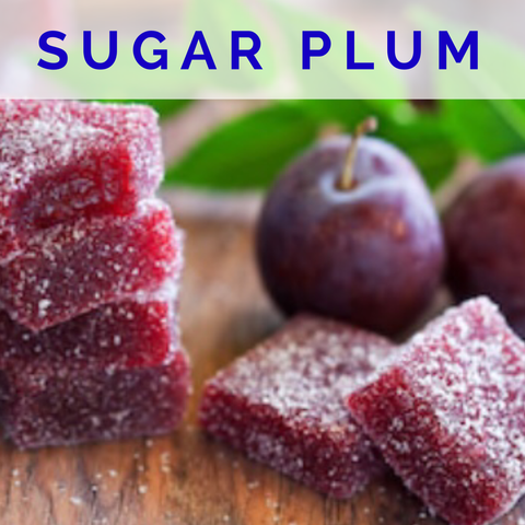 Sugar Plum Scented Wax