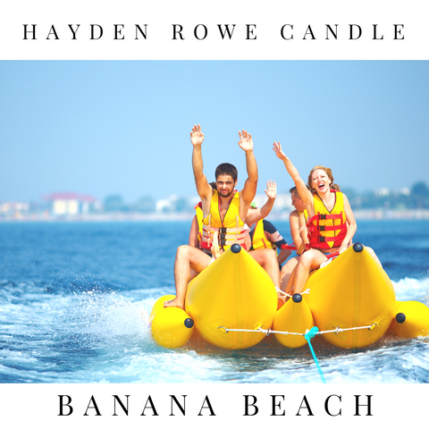 Banana Beach Scented Wax