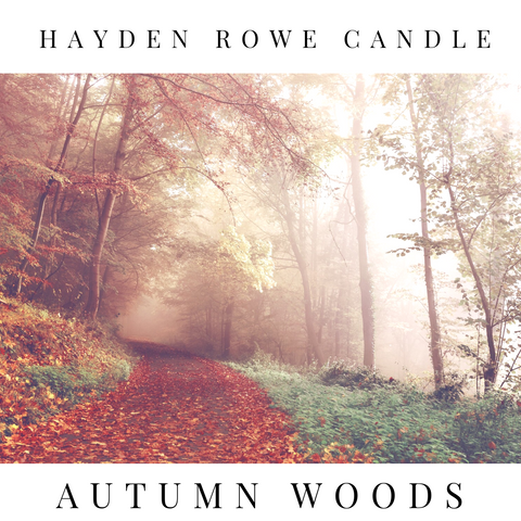 Autumn Woods Scented Wax