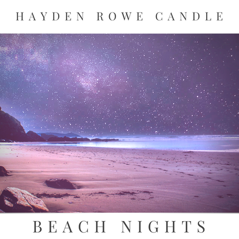Beach Nights Scented Wax