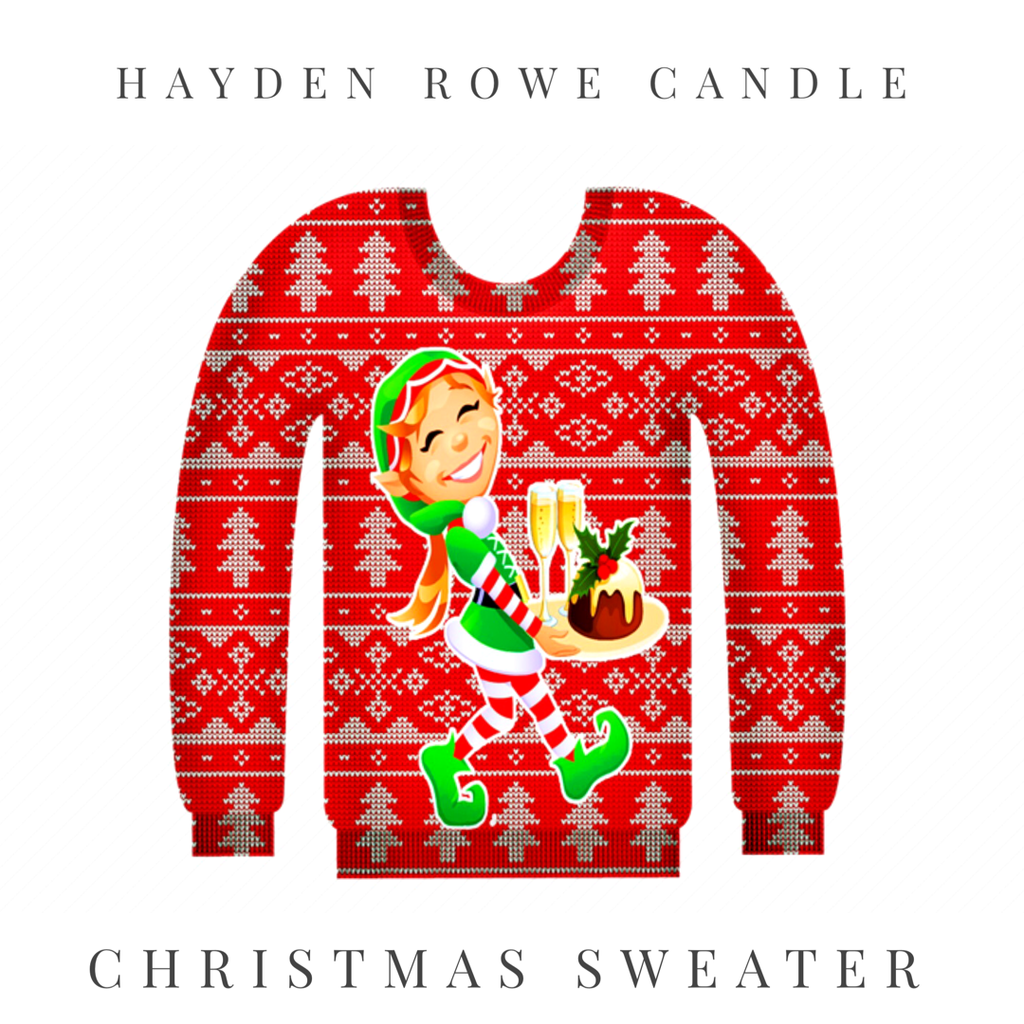 Christmas Sweater Scented Wax