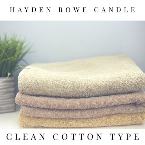 Clean Cotton Type Scented Wax