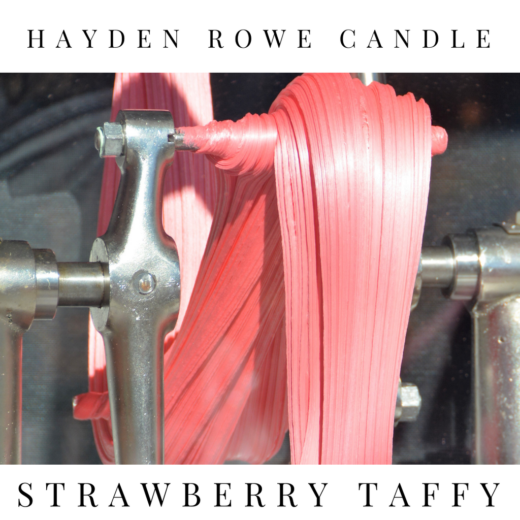 Strawberry Taffy Scented Wax