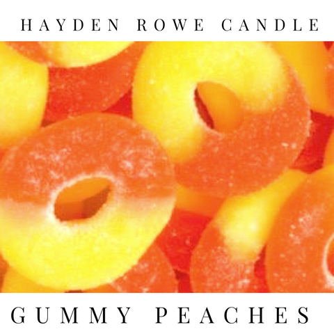 Gummy Peaches Scented Wax