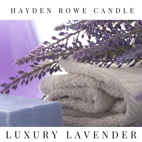 Luxury Lavender Scented Wax