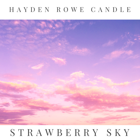 Strawberry Sky Scented Wax