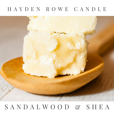 Sandalwood & Shea Scented Wax