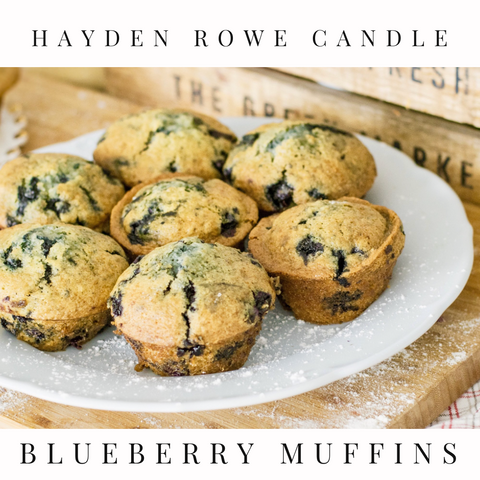 Pre-order Blueberry Muffin Scented Wax