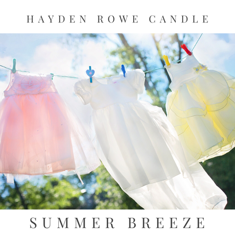 Summer Breeze Scented Wax
