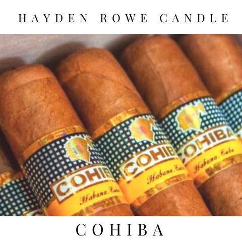 Cohiba Scented Wax