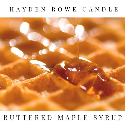 Buttered Maple Syrup Scented Wax