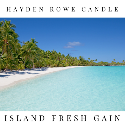 Island Fresh Gain Scented Wax