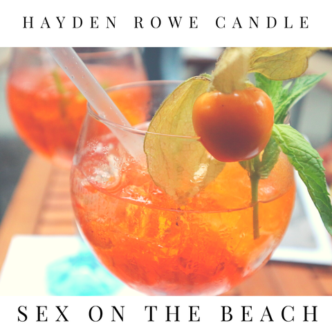 Sex on the Beach Scented Wax