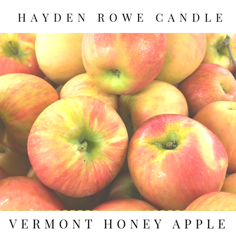 Vermont Honey Apple Scented Wax