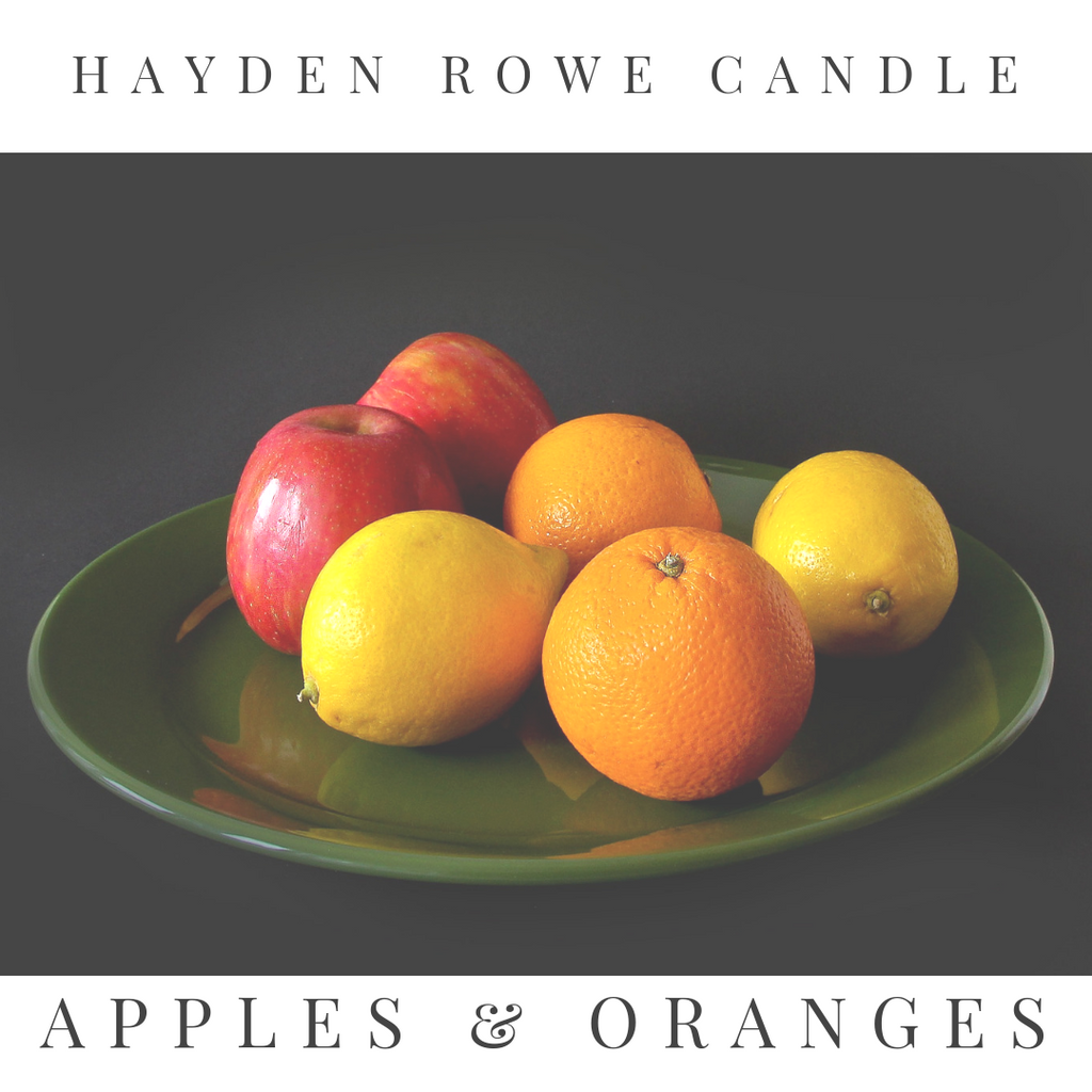 Apples & Oranges Scented Wax