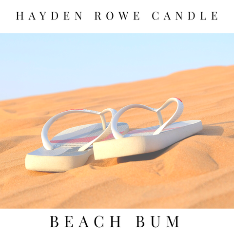 Beach Bum Scented Wax