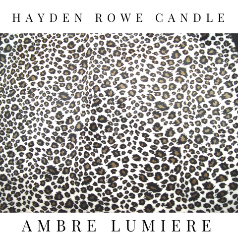 Ambre Lumiere Type Scented Wax