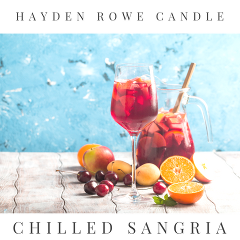 Chilled Sangria Scented Wax
