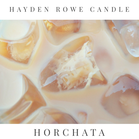Horchata Scented Wax