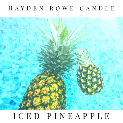 Iced Pineapple Scented Wax
