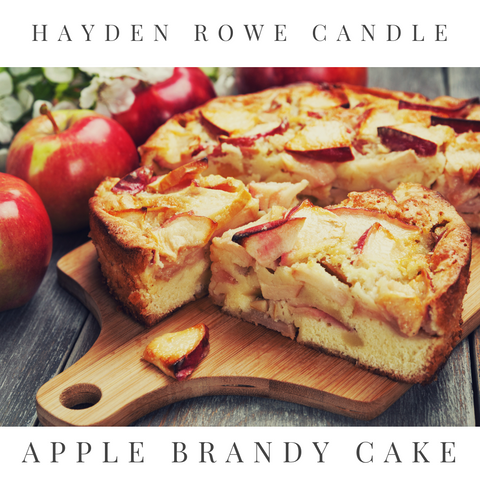 Apple Brandy Cake Scented Wax