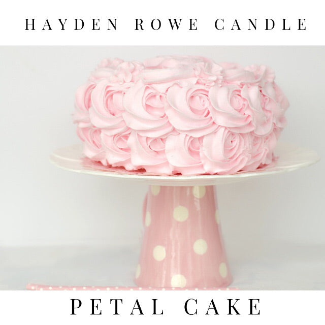 Petal Cake Scented Wax