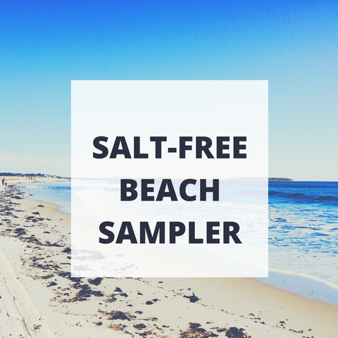 Salt Free Beach Quartet Sampler