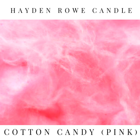 Cotton Candy (Pink) Scented Wax