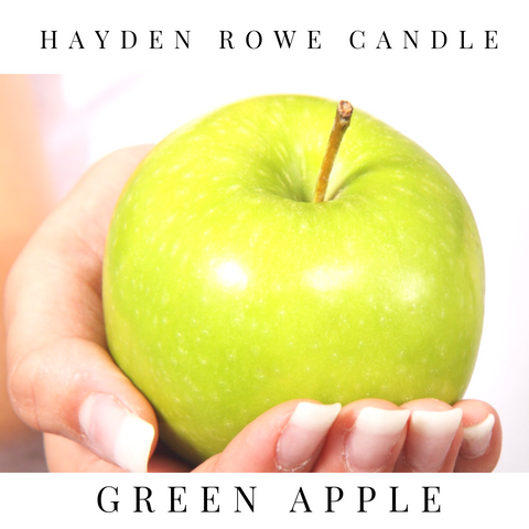 Green Apple Scented Wax