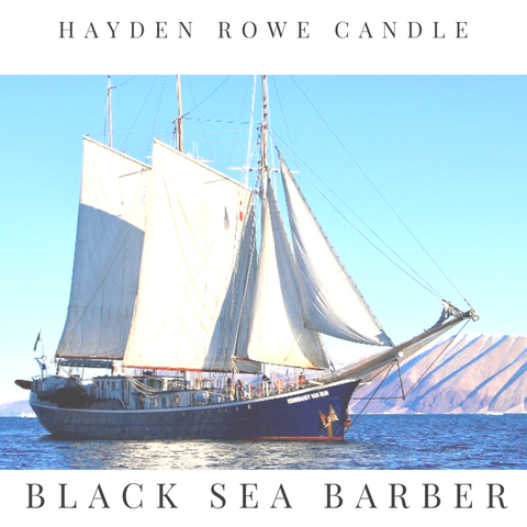 Black Sea Barber Scented Wax