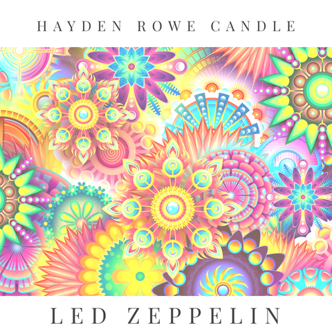 Led Zeppelin Scented Wax