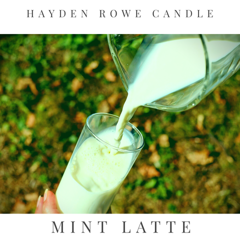 Mint Latte Scented Wax