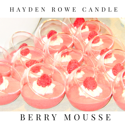 Berry Mousse Scented Wax