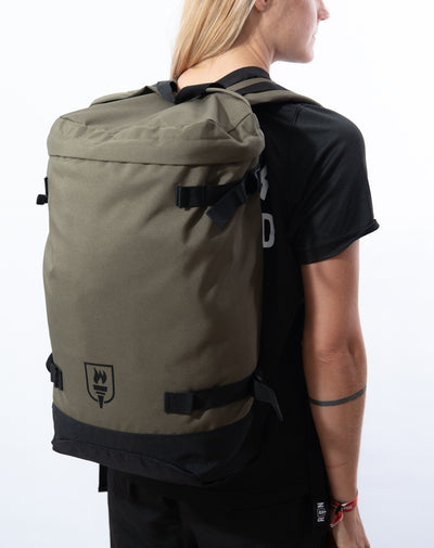 Toploader Backpack (Ltd. Olive)