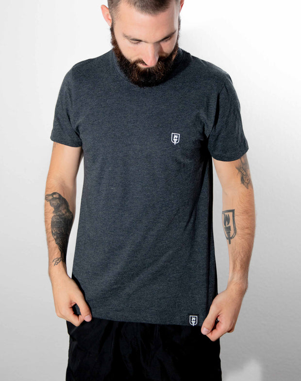 Willpower Athleisure T-Shirt (Dark Grey)