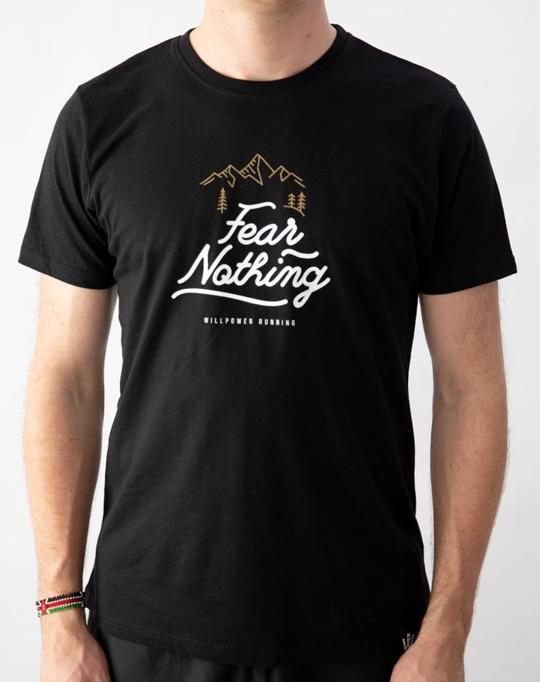 """Fear Nothing"" T-Shirt (Black)"