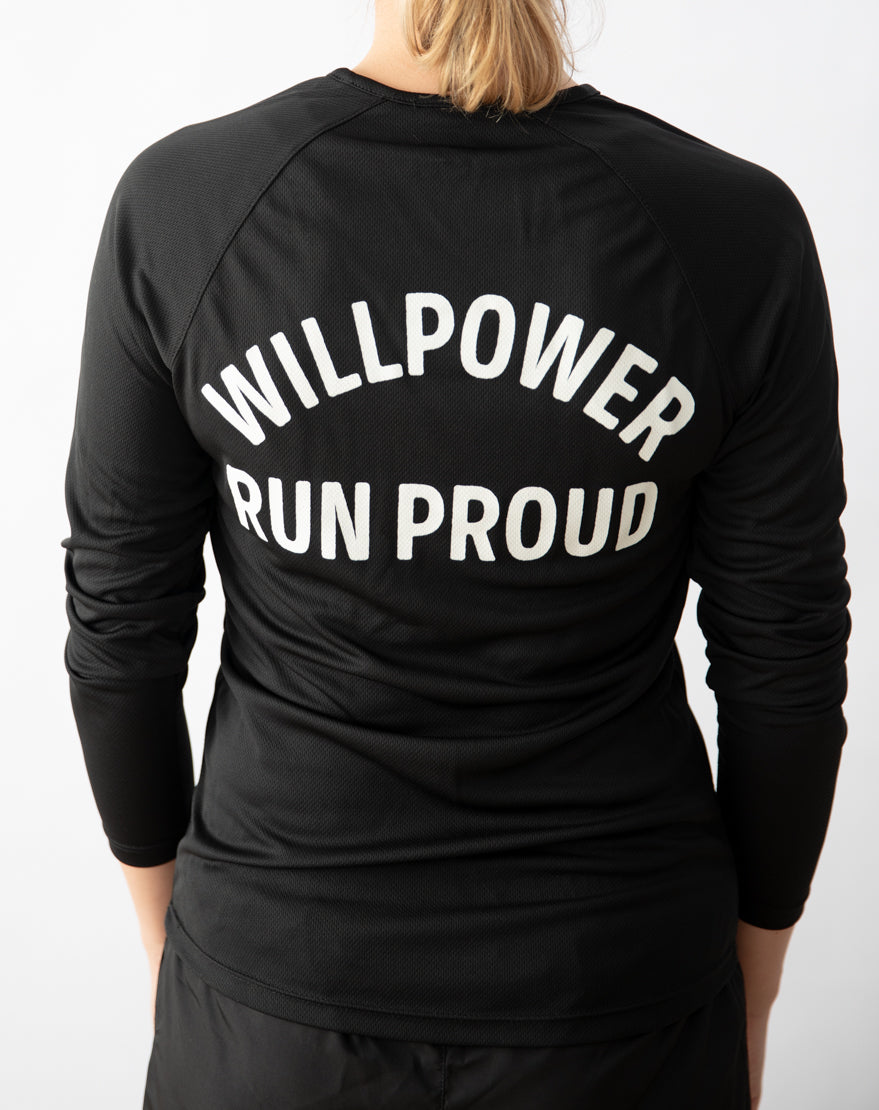 """Run Proud"" Racing Longsleeve (Women)"