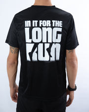 """In it for the Long Run"" Racing T-Shirt"