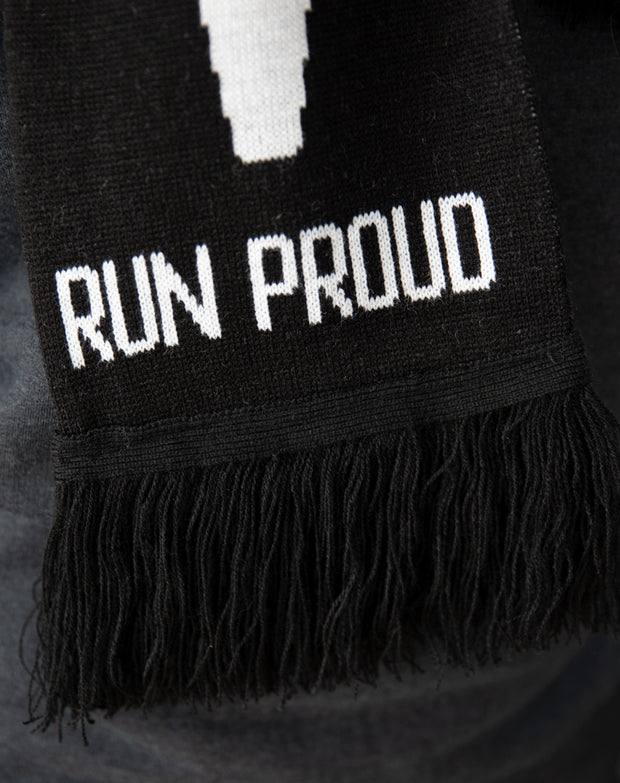 """Run Proud"" Soccer Scarf"